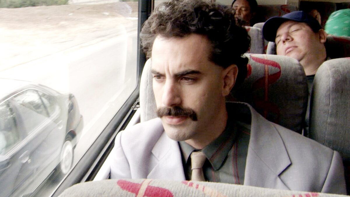Sacha Baron Cohen Reveals His Identity to Guest on Borat 2, Gets Sued Anyway