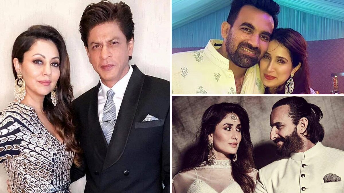 Shah Rukh Khan-Gauri Khan, Zaheer Khan-Sagarika Ghatge, Saif Ali Khan-Kareena Kapoor – 7 Celebs Who Had Interfaith Marriages And Proved Love Has No Religion!