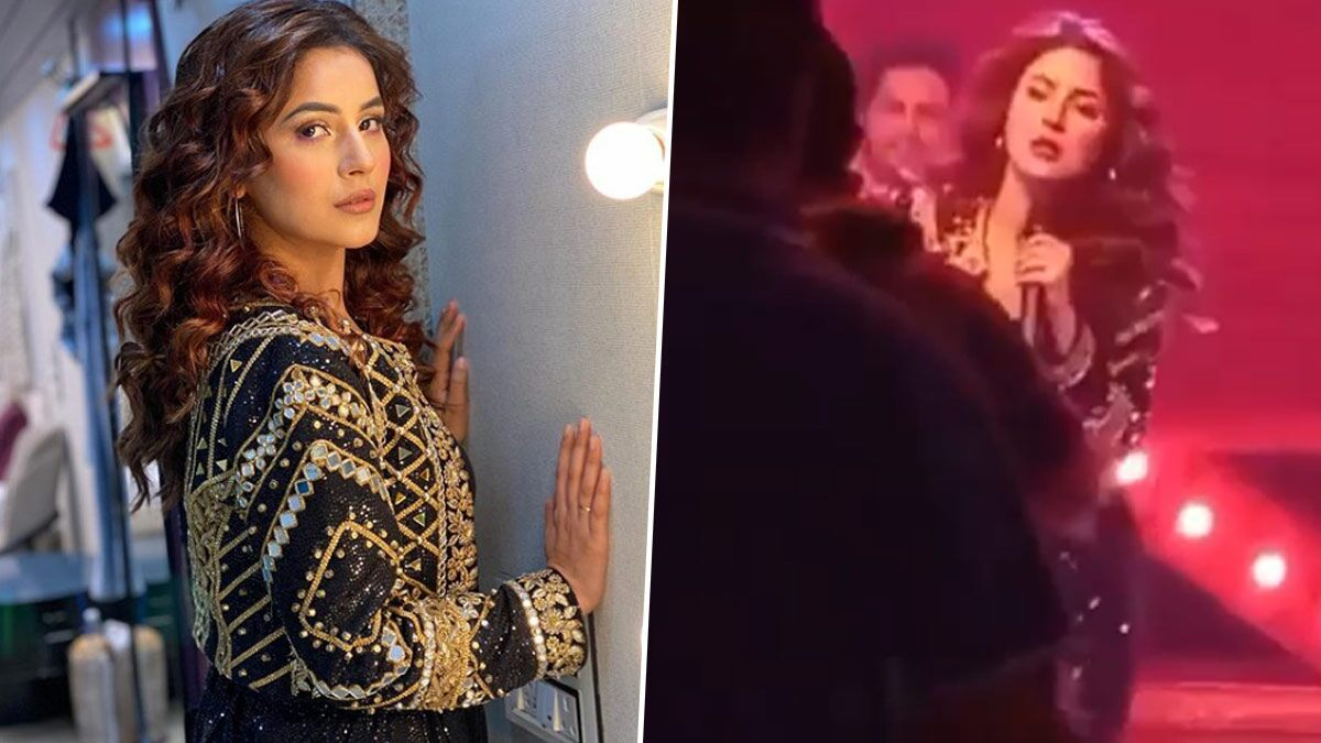 Shehnaaz Gill's BTS Video in a Blingy Outfit Dancing Her Heart Out Surfaces Online and We Are Excited to Watch Her Full Act!
