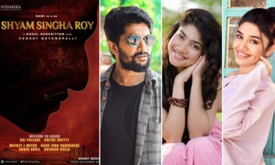 Shyam Singha Roy: Nani, Sai Pallavi, Krithi Shetty To Play Lead Roles! Film To Go On Floors In December