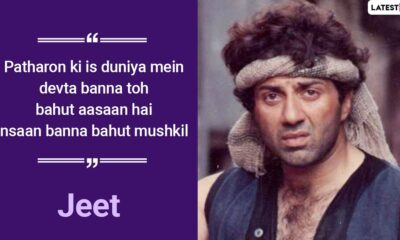 Sunny Deol Birthday Special: 5 Movie Dialogues Of The Actor That Are Explosive AF