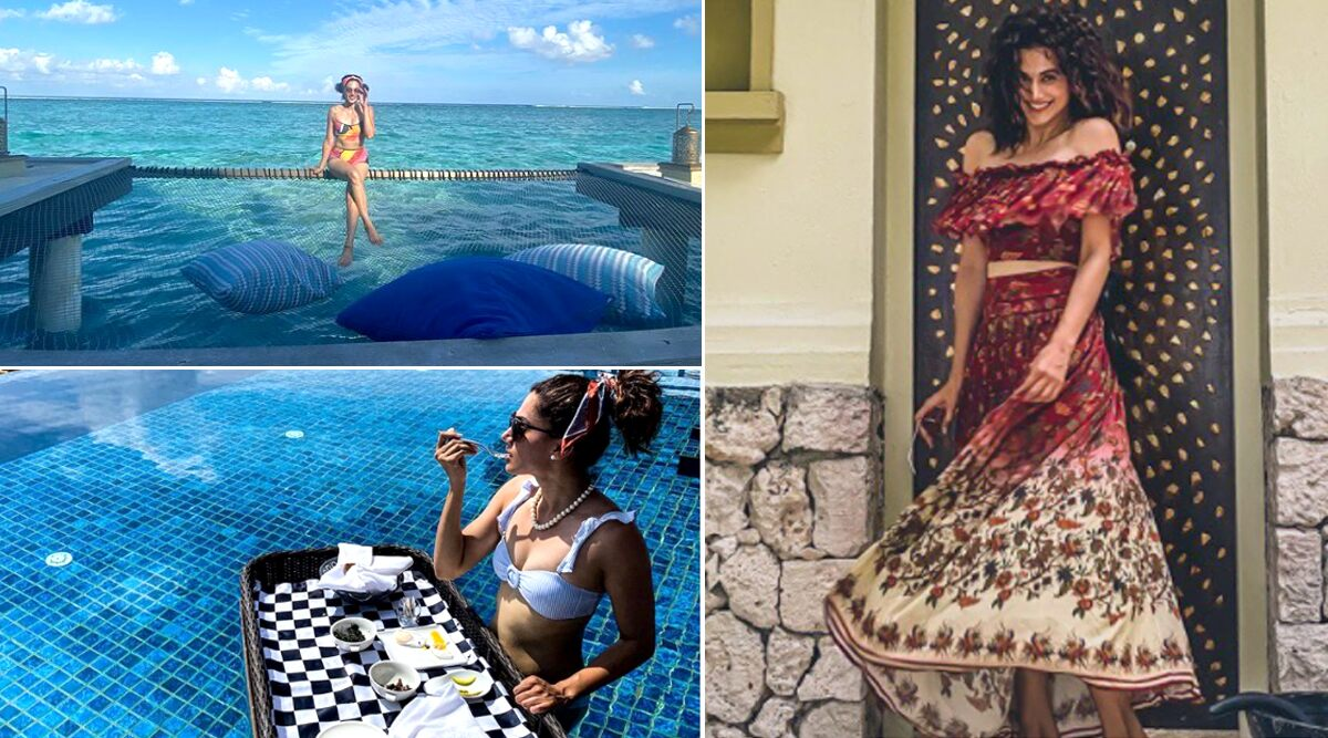 Taapsee Pannu is in Maldives Living a Life that We All Are Craving For (View Pics)