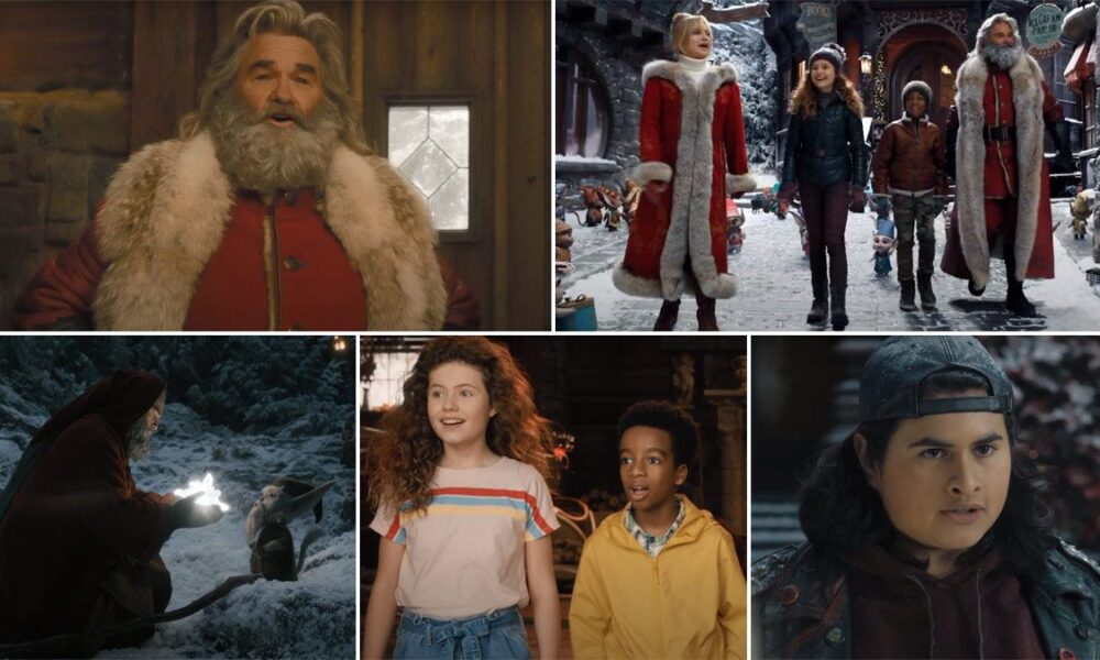 the christmas chronicles 2 trailer kurt russell and