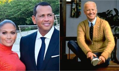 US Presidential Election 2020: Jennifer Lopez, Alex Rodriguez Announce Their Support to Joe Biden For President (Watch Video)