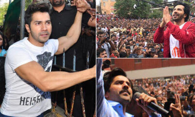 Varun Dhawan Celebrates 8 Years In Bollywood, Dedicates a Heartfelt Post To His Fans! (View Pics)