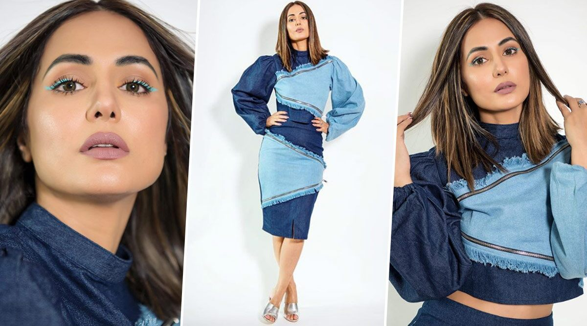 Yo or Hell No? Hina Khan's Denim Separates by MellowDrama for Bigg Boss 14
