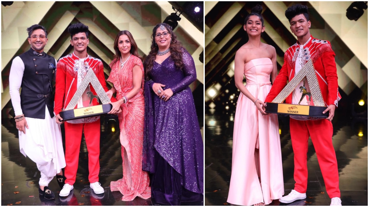 Ajay Singh Aka Tiger Pop Wins The First Season of India's Best Dancer