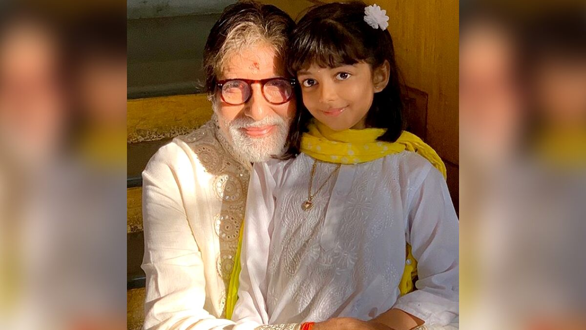 Amitabh Bachchan Sends Birthday Wishes to Granddaughter Aaradhya by Sharing a Collage of Her Pictures and It's Warming Our Hearts