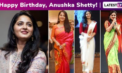 Anushka Shetty Birthday Special: Ethnic Elegance, Ethereal Charm, Resplendent Beauty Is Why We Love Her Quaint Style!