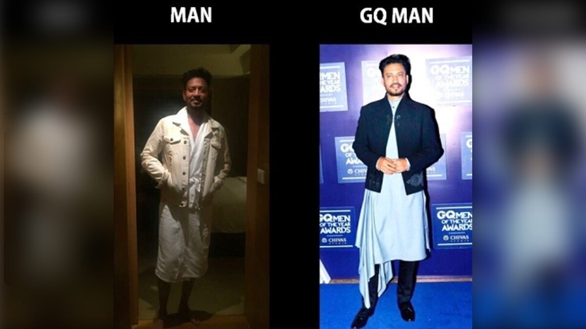 Babil Khan Shares a Hilarious Meme That Late Actor Irrfan Khan Made for Himself (View Pic)