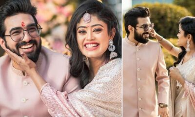 Bekhayali Duo Sachet Tandon and Parampara Thakur Get Engaged in an Intimate Ceremony (View Pic)