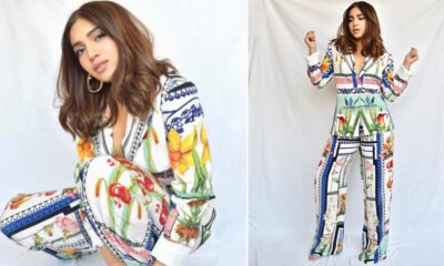 Bhumi Pednekar's Colourful Separates for Durgamati Promotions May Not Strike a Chord with Fashion Aficionados