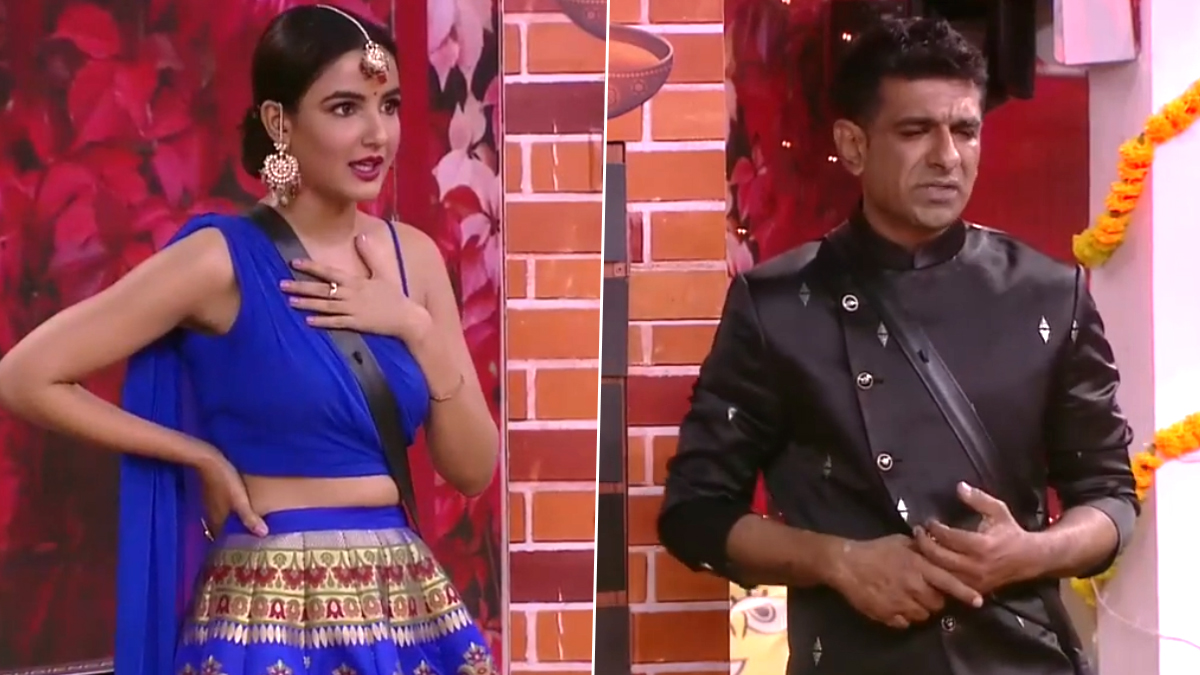 Bigg Boss 14 Promo: Jasmin Bhasin Tags Eijaz Khan As Fake, Khaali Bartan and Victim (Watch Video)