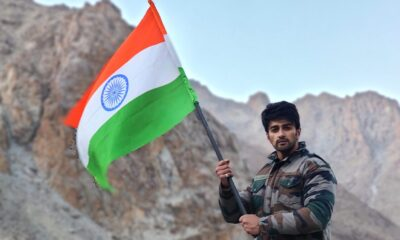Bigg Boss 14's Nishant Singh Malkhani Filming for His Upcoming Military Drama 'LAC' in Kargil