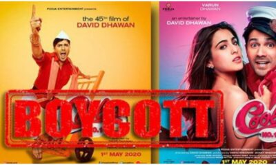 #BoycottCoolieNo1 Trends on Twitter as Netizen Slam Varun Dhawan and Sara Ali Khan's Coolie No 1 Trailer (Read Tweets)