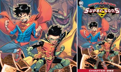 Challenge Of The Super Sons: DC Announces New Digital Series Teaming Jon Kent and Damian Wayne
