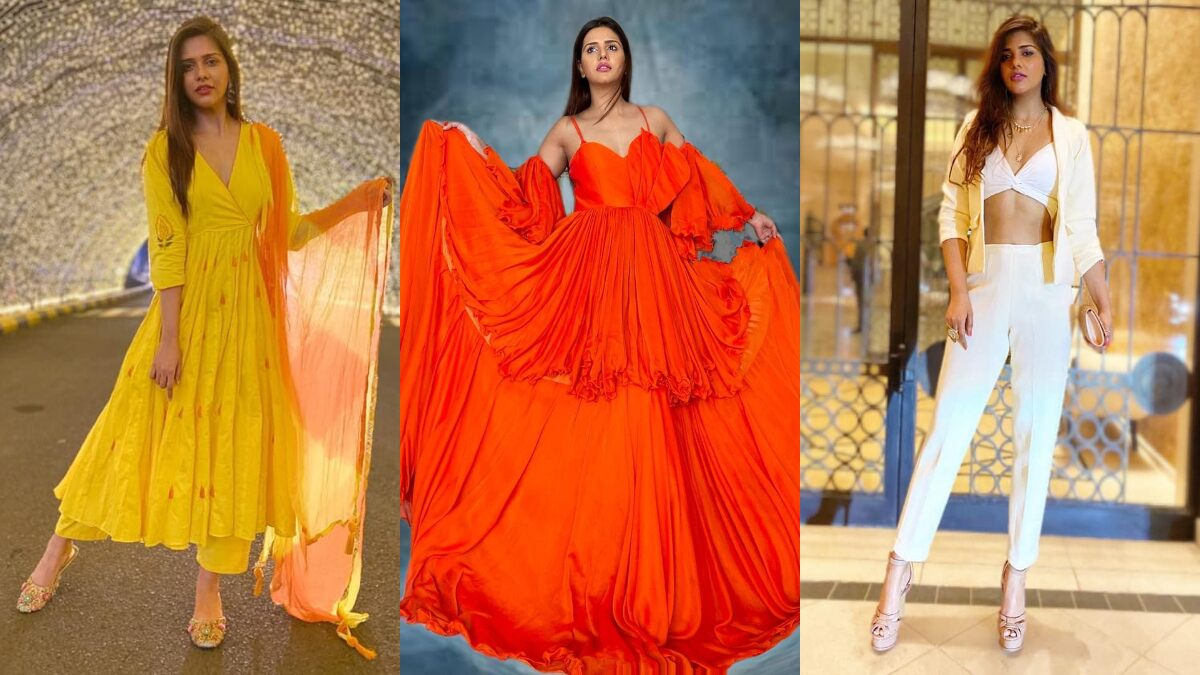 Dalljiet Kaur Birthday Special: From Ethnic to Glam, This Bigg Boss 13 Star's Fashion Game Is Always On-Point (View Pics)