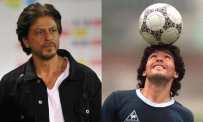 Diego Maradona Dies: Shah Rukh Khan Pays Tribute on Twitter, Says 'You Made Football Even More Beautiful'