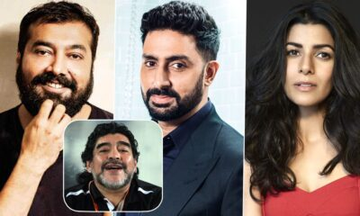 Diego Maradona Passes Away: Abhishek Bachchan, Anurag Kashyap, Nimrat Kaur Condole the Loss of the Football Legend
