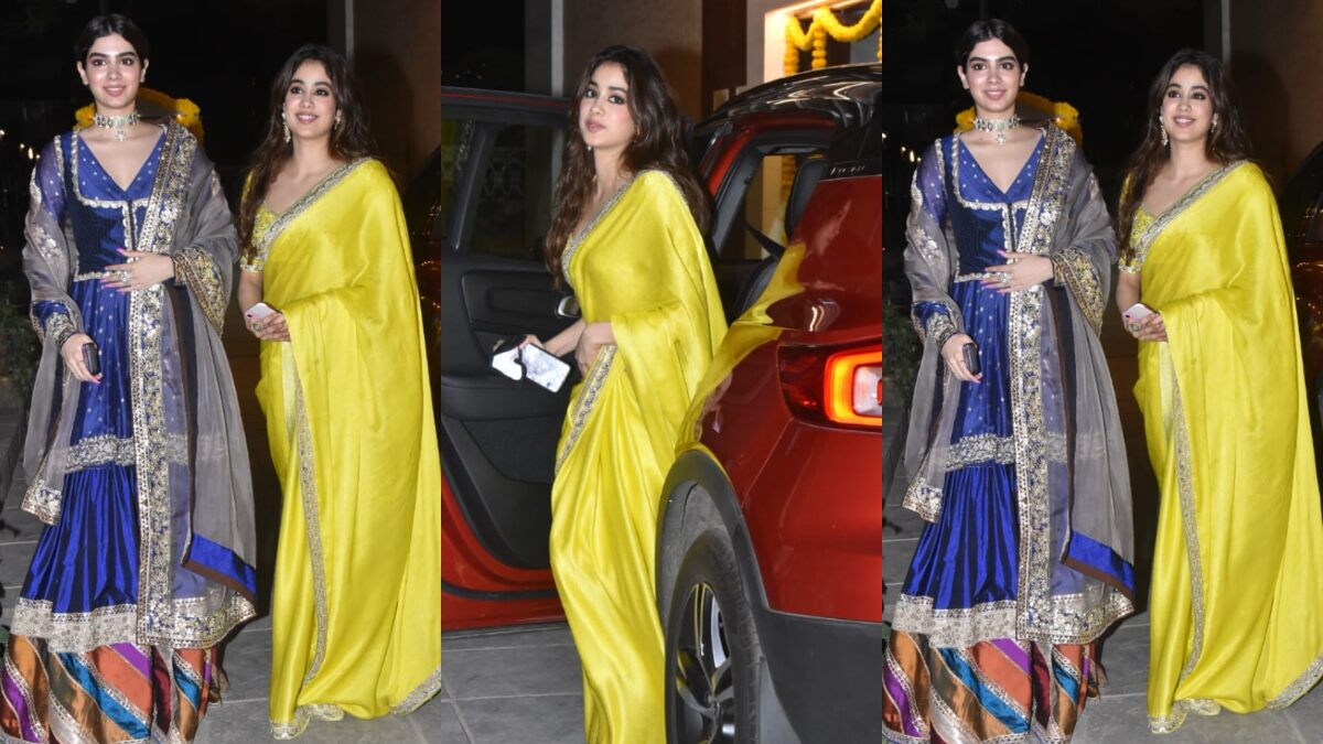 Diwali 2020: Janhvi Kapoor and Sister Khushi's Ethnic Outfits Scream Desi Glamour (View Pics)