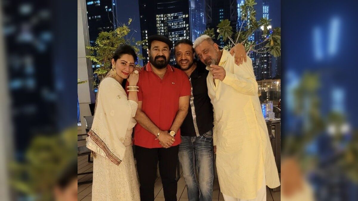 Diwali 2020: Mohanlal -Sanjay Dutt Ring in the Festival of Lights Together