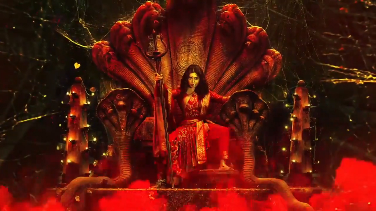 Durgamati - The Myth: Bhumi Pednekar Looks Fierce Like a Goddess in the New Motion Poster (Watch Video)