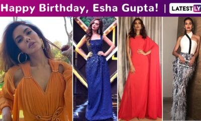 Esha Gupta Birthday Special: A Brief Fashion Capsule of Her Innately Sartorial but Experimental and Effortlessly Chic Styles!