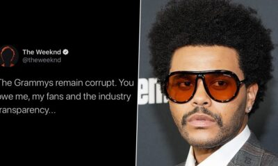 GRAMMYs 2021 Nominations: The Weeknd Slams Recording Academy After His Snub, Says 'The Grammys Remain Corrupt'