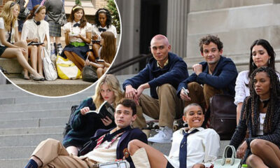Gossip Girl Reboot's Cast Shoot at the Iconic Met Steps & We Cant Help but Reminisce About Blair & Serena's Many Conversations There