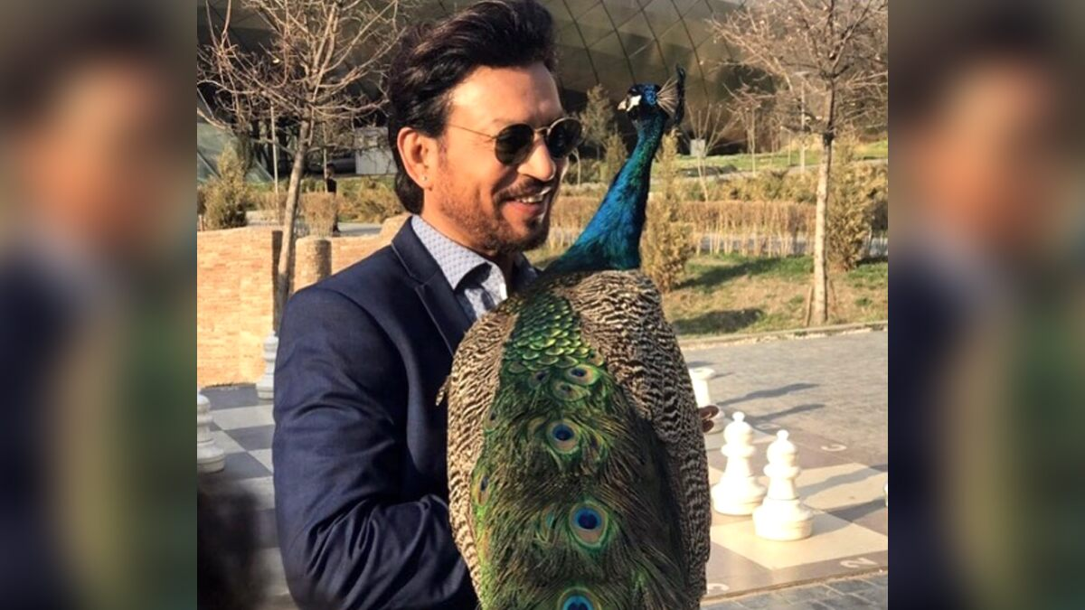 Irrfan Khan's Son Babil Shares Father's Unseen Pic with a Peacock, Says 'I Still Feel like You've Gone for a Long Shoot'