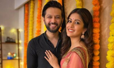 Ishita Dutta Addresses Pregnancy Rumours With Hubby Vatsal Sheth, Says 'The Bump Has Come by Eating All the Mithais'