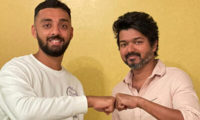 KKR Cricketer Varun Chakravarthy Meets Thalapathy Vijay And Their Fist-bumping Pic Will Make You Jealous