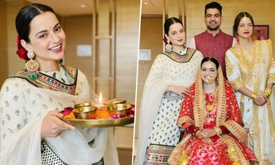 Kangana Ranaut Welcomes 'Lakshmi' Home This Diwali and It's None Other than Her Newly Wed Sister-in-law Ritu (See Pics)