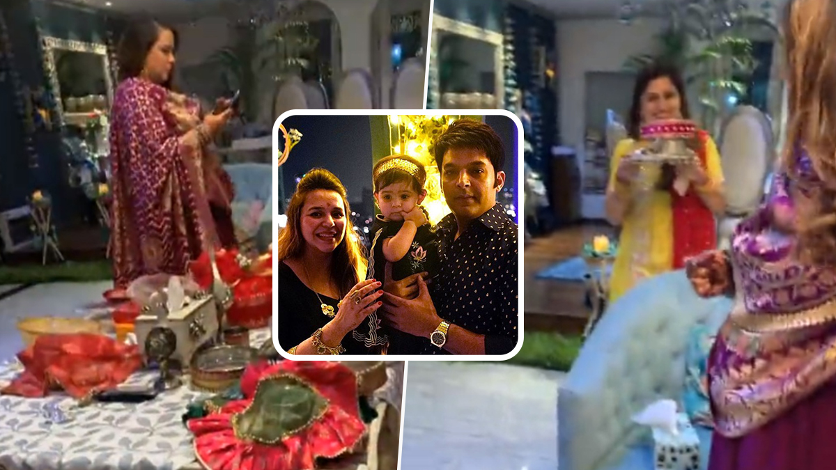 Kapil Sharma and Ginni Chatrath Expecting Second Baby, View Baby Bump Pics and Video Here