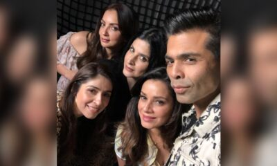 Karan Johar Strikes Pose with Bollywood Wives as Filmmaker's New Web Show Premieres on Netflix (See Pic)