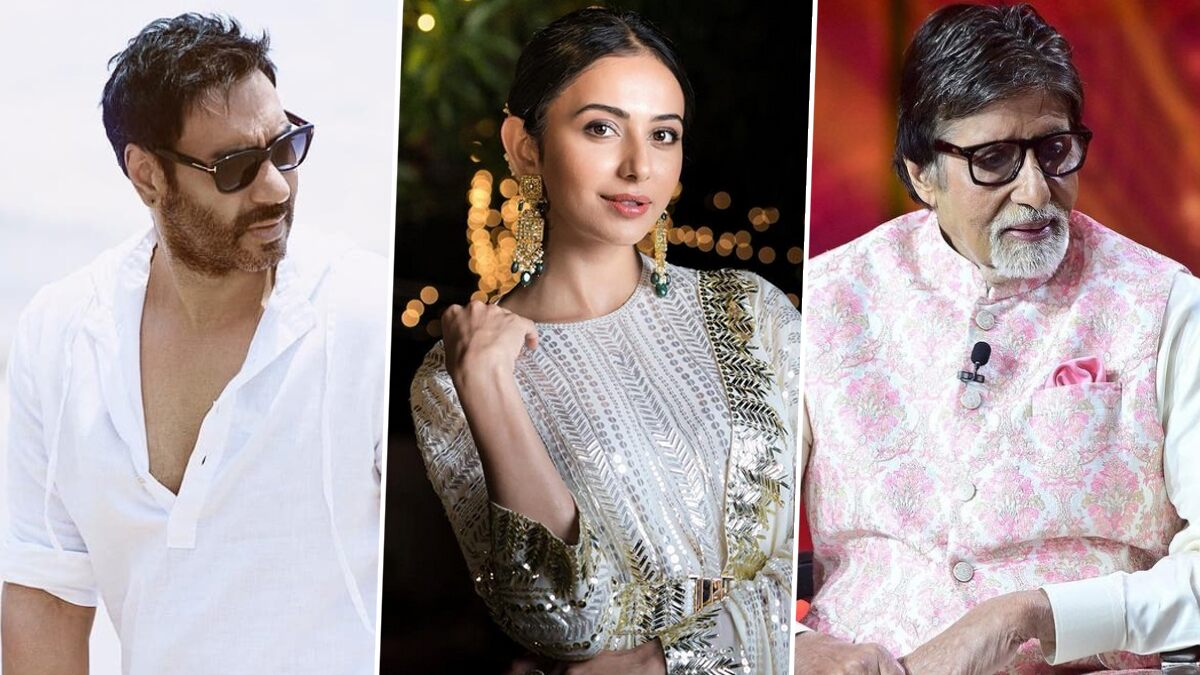 Mayday: Rakul Preet Singh Joins Ajay Devgn and Amitabh Bachchan in the Thriller Drama, Will Essay the Role of a Pilot (View Tweet)
