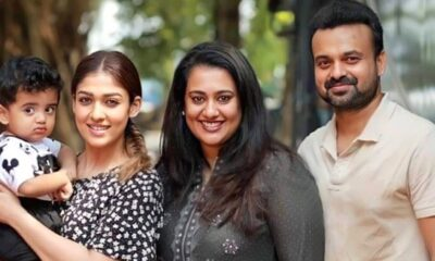 Nayanthara's Picture with Co-Star Kunchacko Boban and Family from the Sets of Nizhal Is Too Cute to Miss!