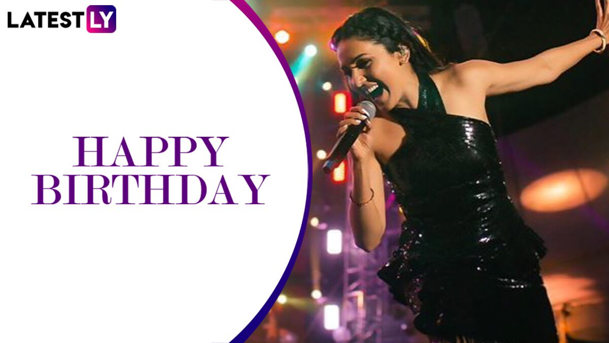 Neeti Mohan Birthday: 7 Songs of the Jiya Re Singer That Should Be A Part of Your Playlist (Watch Videos)