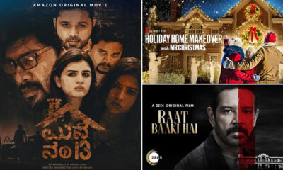 OTT Releases Of The Week: Raat Baaki Hai On ZEE5, Manne Number 13 On Amazon Prime, Holiday Home Makeover With Mr Christmas On Netflix And More