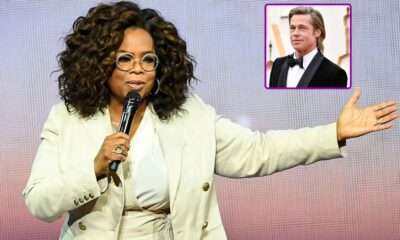 Oprah Winfrey, Brad Pitt Team Up to Produce Film Adaptation of Ta-Nehisi Coates' Best-Selling Novel The Water Dancer