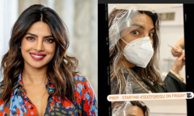 Priyanka Chopra to Begin Shooting for Text for You on Friday, Shares a Goofy Pic From Prep