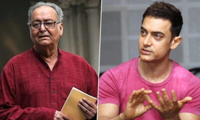 RIP Soumitra Chatterjee: Aamir Khan Pays Heartfelt Condolences to the Cine Icon, Says 'Indian Cinema Has Lost One of Its Leading Lights'