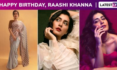Raashi Khanna Birthday Special: Sartorial, Minimalistic Chic and Versatile, Her Fashion Arsenal Is All Kinds of Wardrobe Goals!