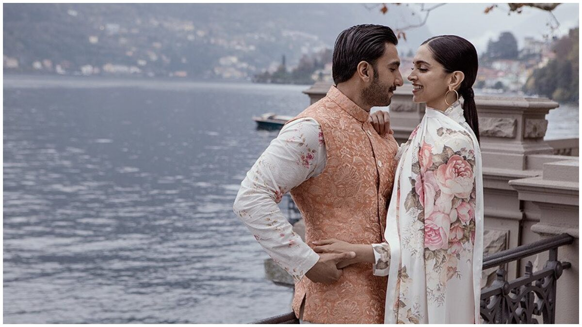 Ranveer Singh Wishes His 'Gudiya' Deepika Padukone on Second Anniversary with an Unseen Pic from Their Lake Como Wedding