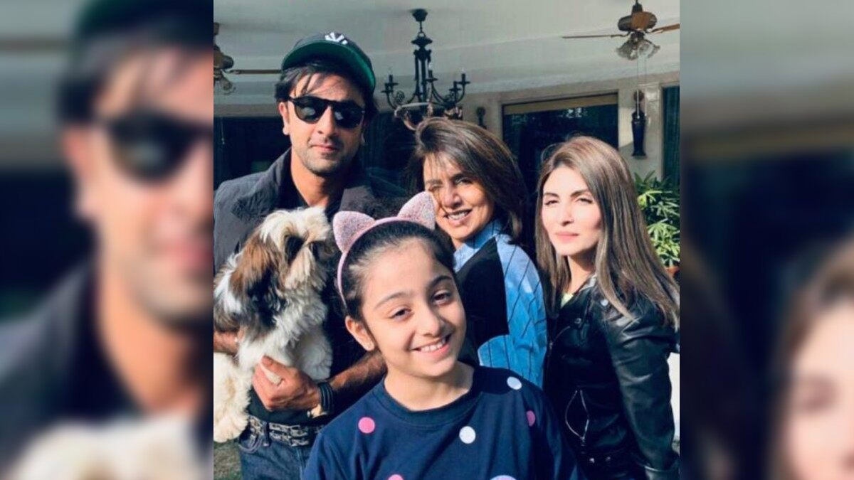 Riddhima Kapoor Shares an Adorable Picture With Neetu Kapoor and Bro Ranbir Kapoor As She Misses Them on Diwali