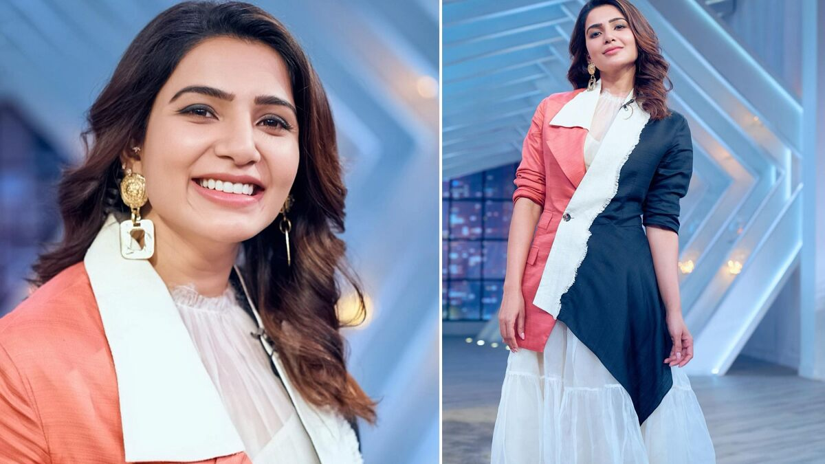 Samantha Akkineni Shows You How to Nail a Colour Block Outfit the Right Way (View Pics)