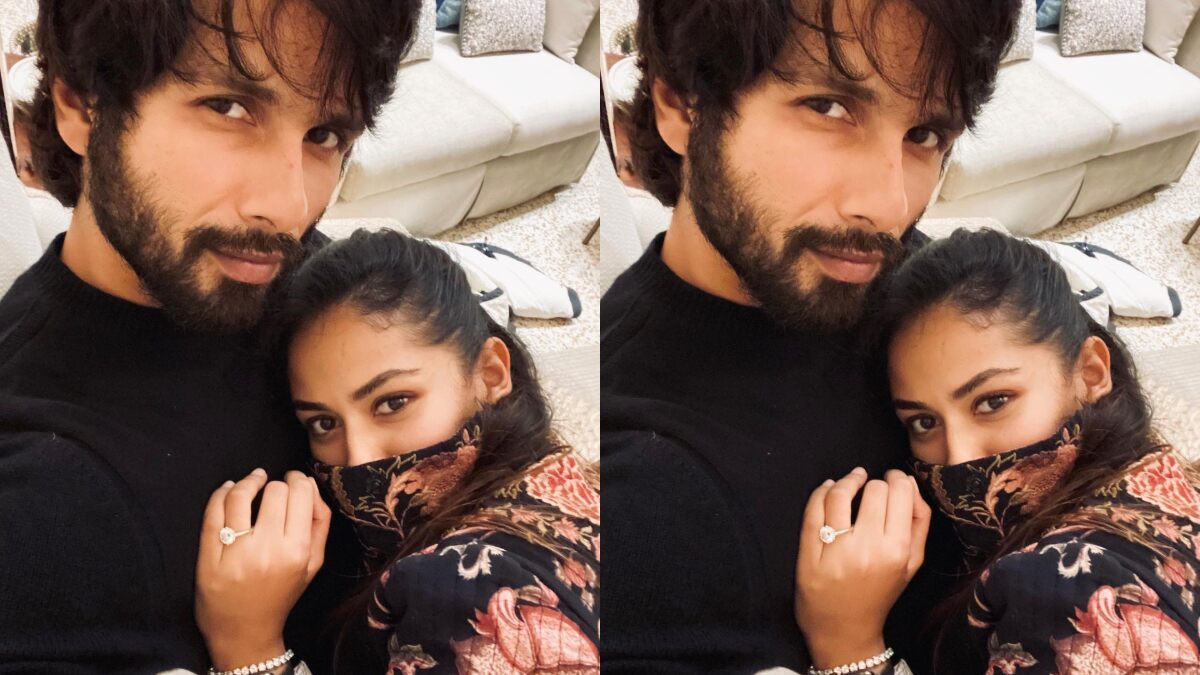Shahid Kapoor Shares a Cosy Selfie With Wifey Mira Rajput, Says 'Just What I Need on a Rainy Winter Evening'