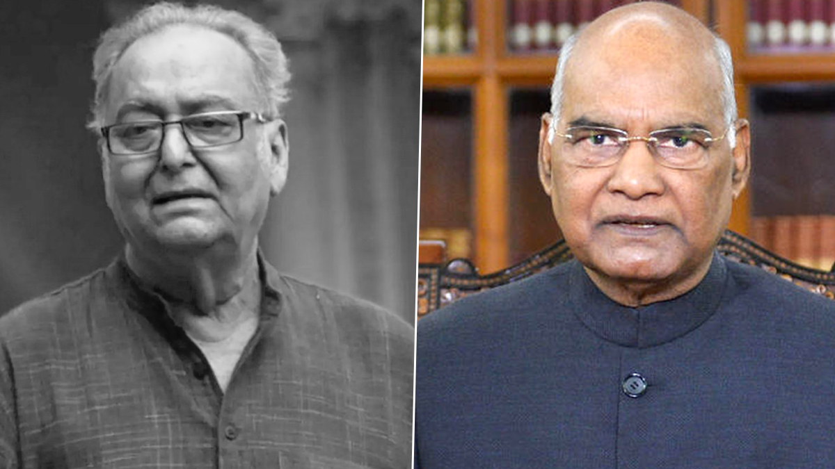 Soumitra Chatterjee No More: President Ram Nath Kovind Condoles the Death of Veteran Actor, Says 'Indian Cinema Has Lost One of Its Legends'