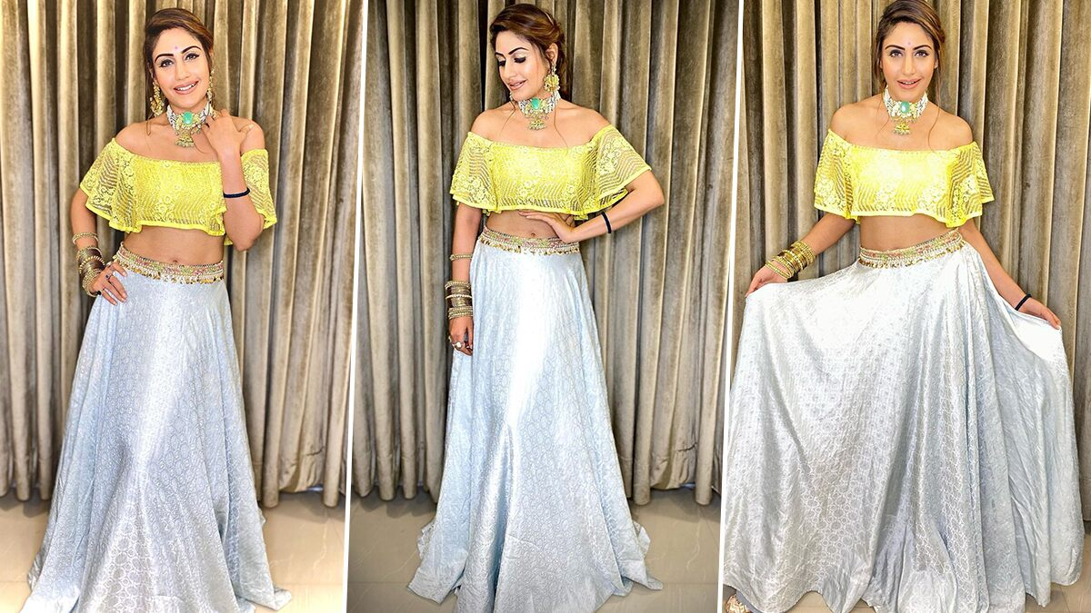 Surbhi Chandna Struts and Stuns in Her Newest Ethnic Offering and We Are Sold (View Pics)