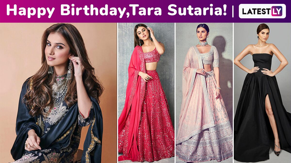 Tara Sutaria Birthday Special: She Has a Way With Minimalist Chic Style, a Cute Smile and a Sublime Charm All Bundled Up Together Perfectly!